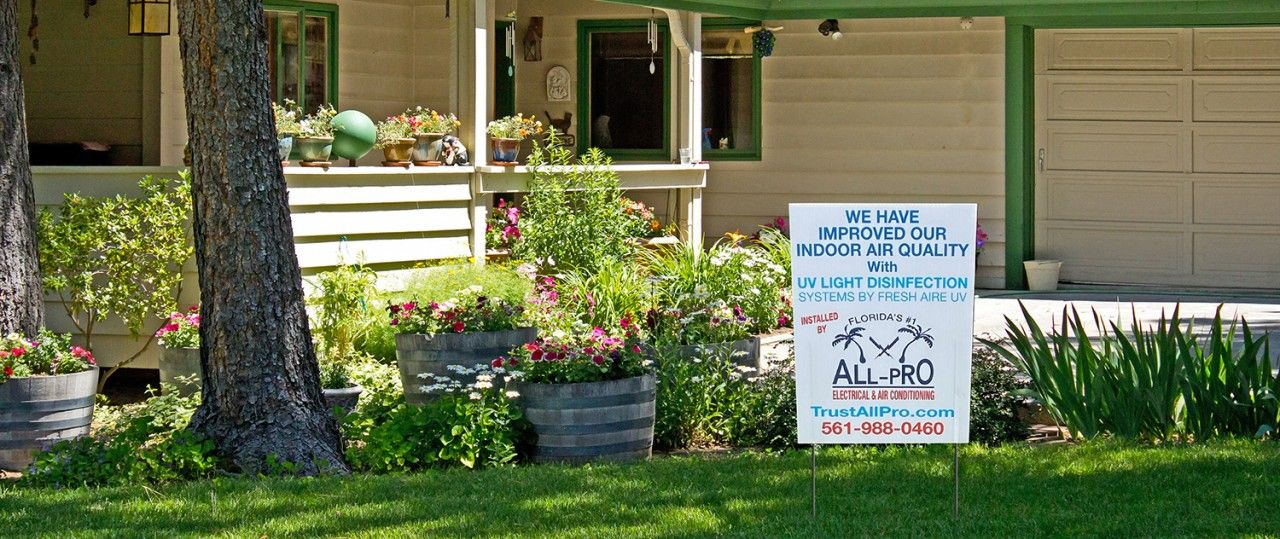 Do You Have One Of These Signs In Your Yard?